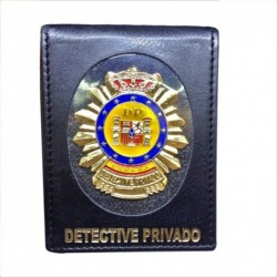 Cartera Detective Privado...