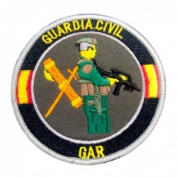 Parche Guardia Civil GAR