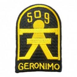 Parche 509 Geronimo