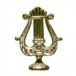 Emblema Lira Sin Palmas Oro...