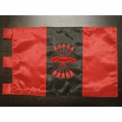 Bandera Falange bordado a mano