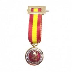 Medalla Completa Donante de...