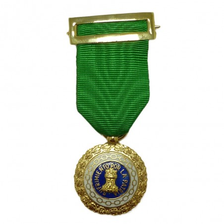Medalla Completa Sufrimiento Por La Patria