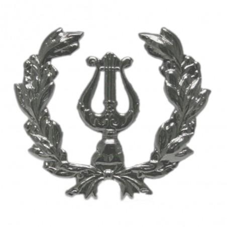 Emblema Lira con Palma Niquel