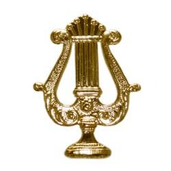 Emblema Lira Sin Palma Laton