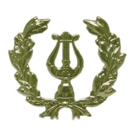 Emblema Lira con Palma Oro fino