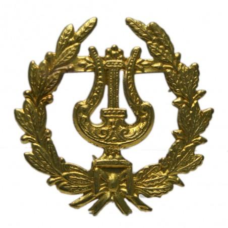 Emblema Lira con Palma Latón