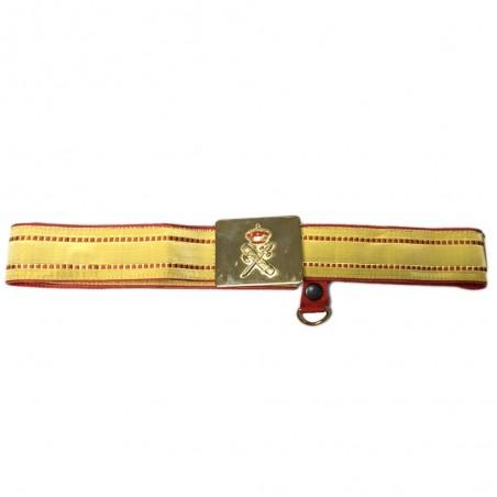Cinturon Guardia Civil Gala
