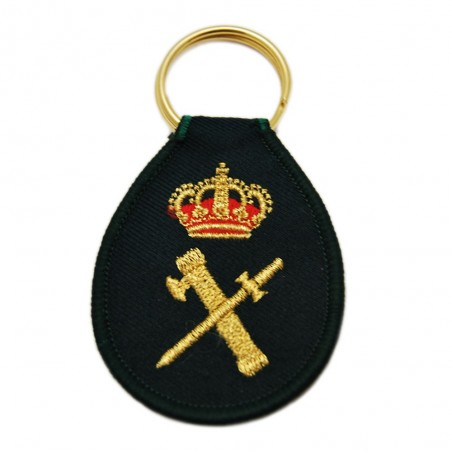 Llavero Guardia Civil Bordado