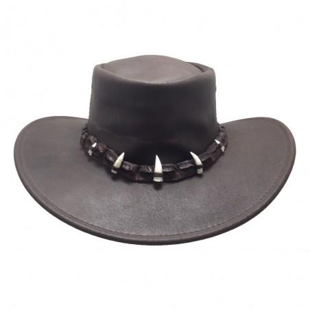Crock Hunter Sombrero Aventura Piel