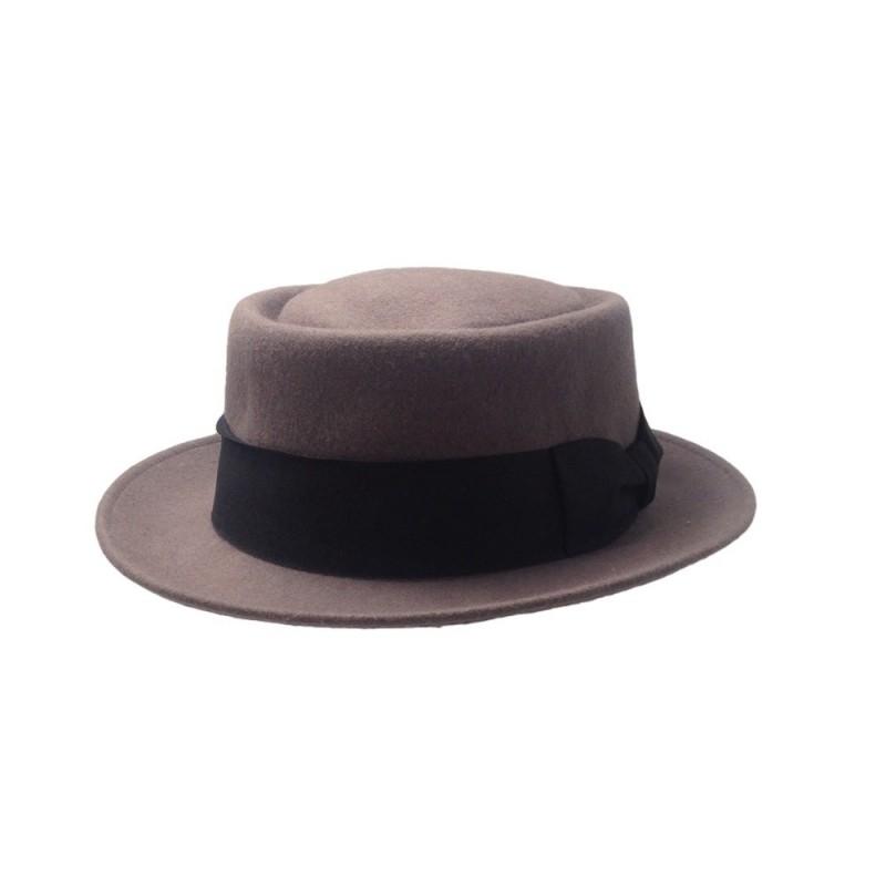 bienes de conveniencia estilo de moda mejor Claudina Sombrero Pork Pie - 9-10-037 Color Gris Talla M