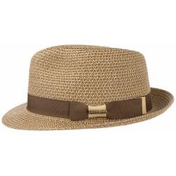 Trilby Sombrero Toyo Jaspeado