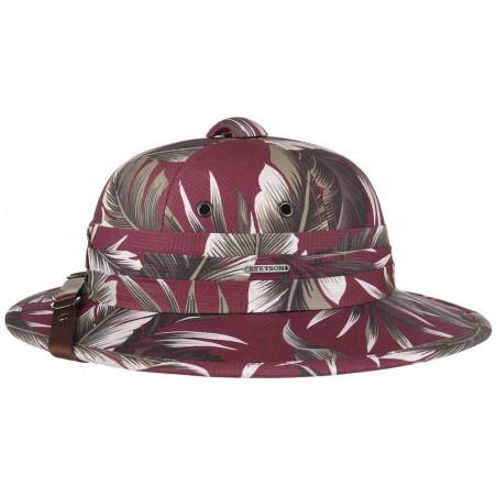 Pith Helmet Salacot Algodon Estampado