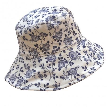 Soquel Sombrero Ala Ancha Algodon