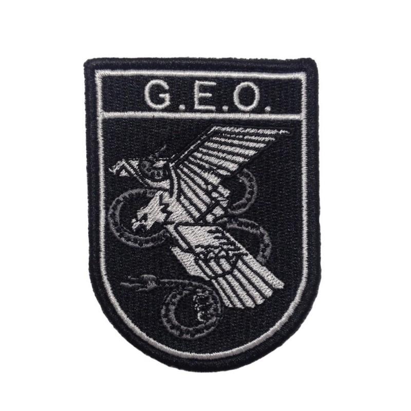 Parche bordado G.E.O.