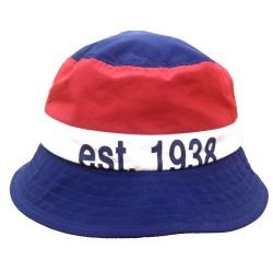 Bold Stripe Bucket Sombrero