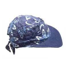 Denim Flower Gorra Visera