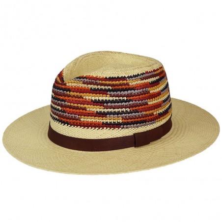 Tasmin Sombrero Panama Ala Ancha