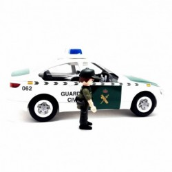 Coche Guardia Civil y Agente