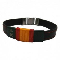 Pulsera Piel Guardia Civil