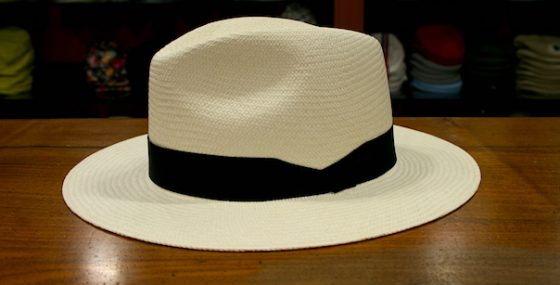 trucos sombrero panamá