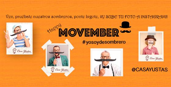 Movember y Casa Yustas